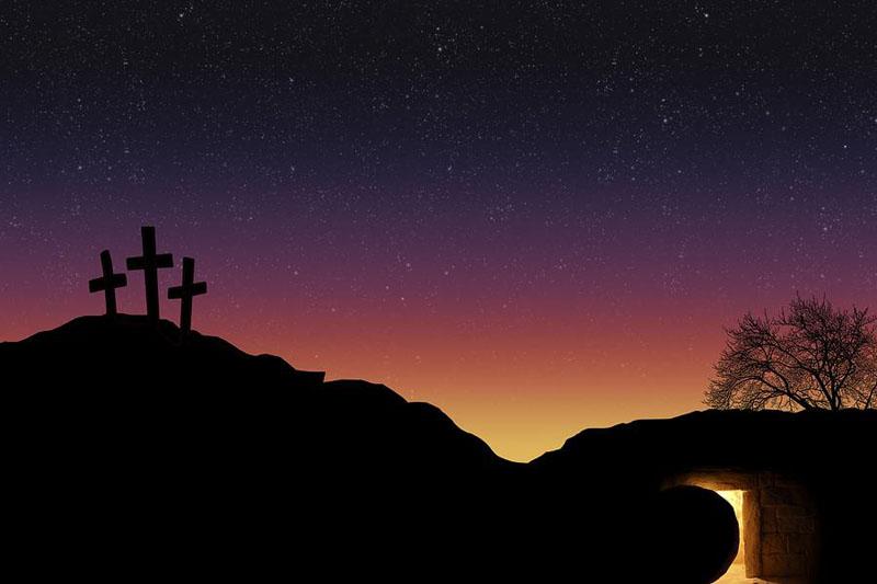 The Resurrection of Jesus Christ   Bundaberg West Baptist ... Empty Cross Painting